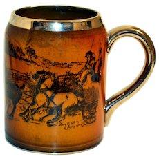 Ridgway England Tankard Beer Mug Coaching Ways and Coaching Days