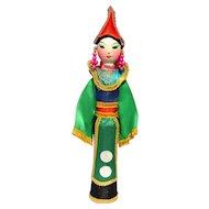 Vietnamese Handcrafted Doll 'Dan Toc Pa Di Bac Thai' Thai Ethnic Group