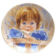 Edwin Knowles Collector's Plate Daydreaming 2nd Plate in Frances Hook Legacy Series 1985