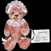 Artist Bear SARA Handcrafted by Joyce Ann Haughey Bearcraft Limited Edition 1993