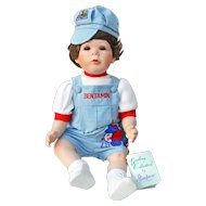 Effanbee Doll Co Judith Turner Benjamin Doll Gallery Collection Toddler Series 1992