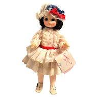 Madame Alexander Degas 14 inch Doll #1575 Vintage 1965