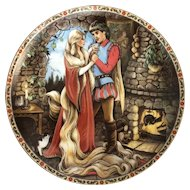 Collector Plate RAPUNZEL Karen Pritchett Once Upon A Time Series by Knowles 1988