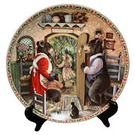 Collector Plate Goldilocks and the Three Bears Once Upon A Time Series Karen Pritchett