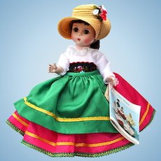 Madame Alexander Doll #593 Italy from the International Collection
