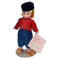 Madame Alexander Dutch Netherlands Boy Doll #577 from International Collection