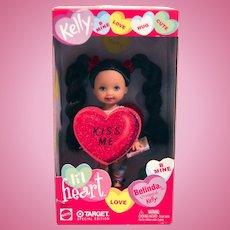 Valentines Kelly Lil Heart Belinda Kiss Me Barbie Doll New Box from 2002