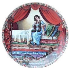 Collector Plate The Princess and the Pea Once Upon A Time Series Knowles