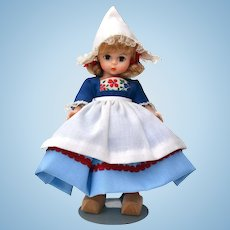 Madame Alexander # 591 Netherlands Girl Doll from the International Collection
