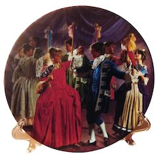 Collector Plate The Shoes That Were Danced to Pieces Charles Gehm Konigszelt Bavaria