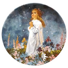Collector Plate Twinkle Twinkle Little Star by John McClelland for Reco & Knowles
