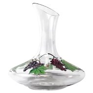 Handcrafted Hand Painted Lead-free Crystal Carafe Dionysus Pattern