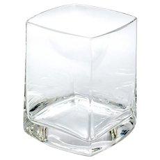 12 Quadrat Water All Purpose Glasses Lead-free Crystal from Romania