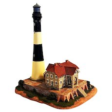 Fire Island Lighthouse Replica from Danbury Mint, 1994