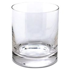 8 Whiskey Glasses Handcrafted Lead-free Clear Crystal from Romania