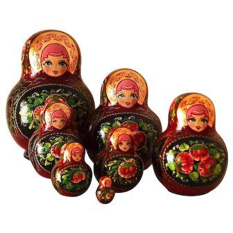 Unique 7-Piece Russian Matryoshka Doll