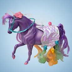 SilkyMane Purple Horse of the Lady lovely Locks and the Pixietails Series
