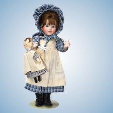 Wendy Lawton Original Doll Laura Ingalls w/ her Rag Doll Charlotte 1986