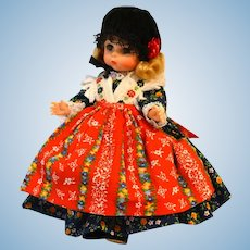 Madame Alexander Doll GERMANY #563 from the International Collection Circa 1974