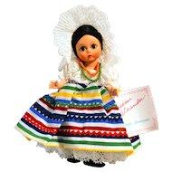 Madame Alexander MEXICO # 520 from the International Collection Circa 1980s