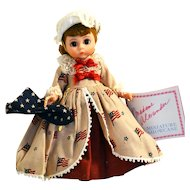 Madame Alexander Betsy Ross Doll #312 from the Americana Collection