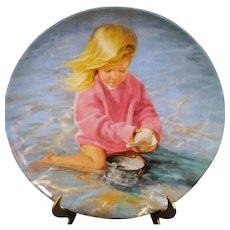 Collector Plate Summer's Child Special Moments Series Donald Zolan Pemberton & Oakes 1987