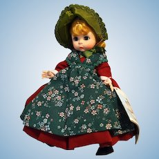 Madame Alexander Doll # 569  DENMARK from the International Collection 1974-1975