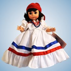 Madame Alexander Doll # 544 DOMINICAN REPUBLIC from the International Collection 1986