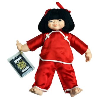 1997 Chinese Hong Kong Doll w/ Passport