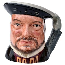 "Royal Doulton Henry VIII Toby Mug 2 3/4"""