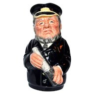 "Royal Doulton Toby Jug Capt Salt 4 1/8"""