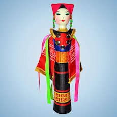 Vietnamese Doll dan toc tay nguyen kon tum