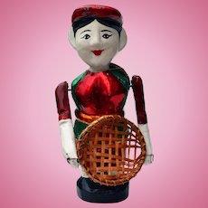 Vietnamese Water Puppet Doll Village Fisherman