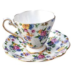 Royal Standard Fine Bone China England Teacup Cup & Saucer