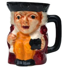 """Genuine Staffordshire Shorter & Son 2 1/4"""" Toby Character Mug Made in England"""