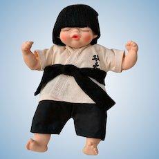 Sleepy Baby Chinese Hong Kong Doll