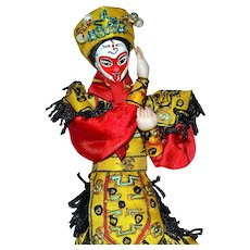 Chinese Opera Doll on a Stand ~ SUN WUKONG, the Monkey King