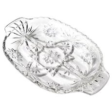Anchor Hocking EAPC Early American Prescut Divided Relish Tray