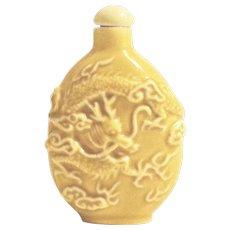 Small Dragon Snuff Bottle