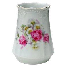 Floral Porcelain Vase Made in Germany