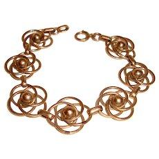 Love Knots Bracelet Gold Filled Harry S Bick NY