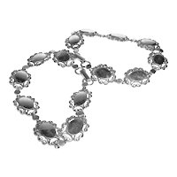 Sterling Bracelets Scalloped Links  Signed Beau Sterling