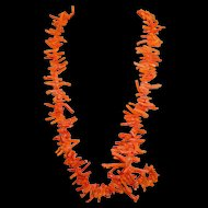 Vintage Branch Coral Necklace 36 Inches Long