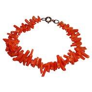 Vintage Branch Coral Bracelet
