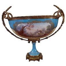 French Sevres style bowl/centerpiece Ovington New York