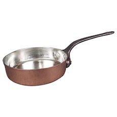 Antique Copper Saute Pan