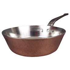 """8.6"""" Windsor Pattern Copper Pan"""