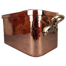 E.Dehillerin Copper Daubiere Stockpot Cauldron