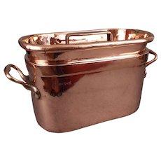 Copper Daubiere Stockpot Cauldron