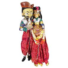 Indian Folk Art Dolls